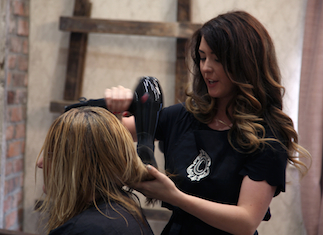 Get the perfect blow dry for your hair by the specialists at CoCo North, Huddersfield